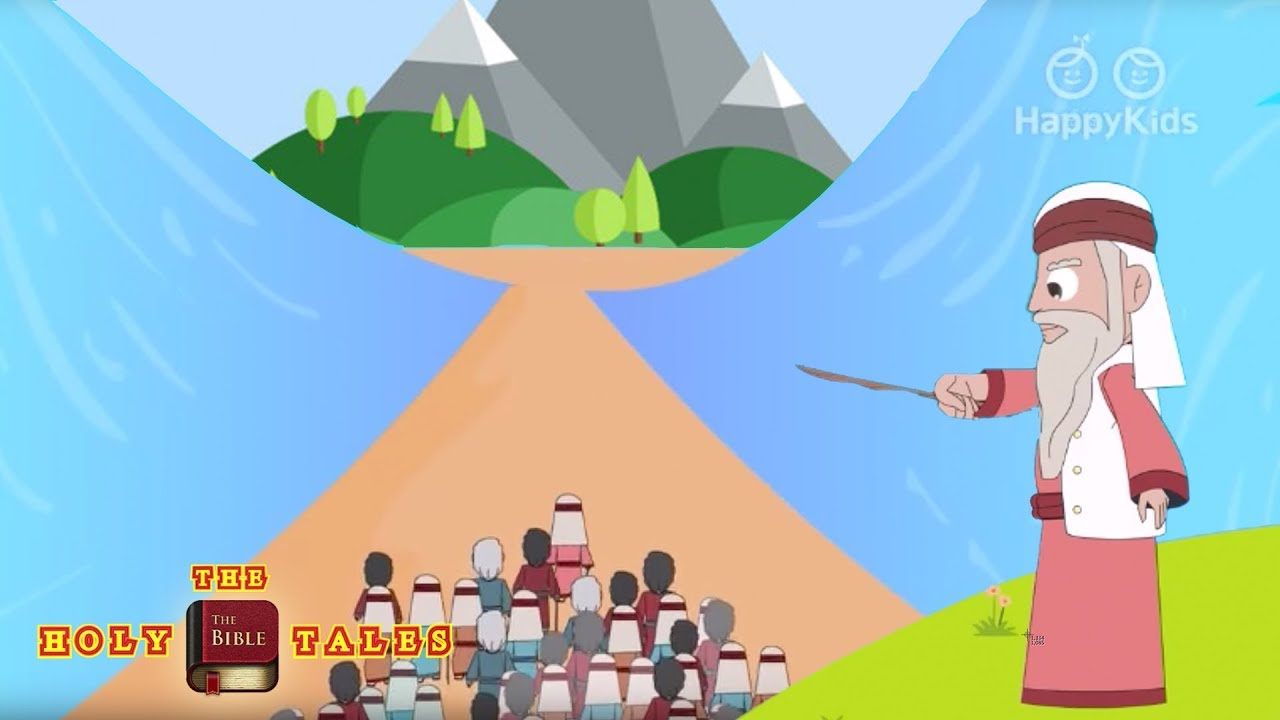 Book Of Exodus I Old Testament Stories I Animated Children's Bible Stories   Holy Tales Bible Stories
