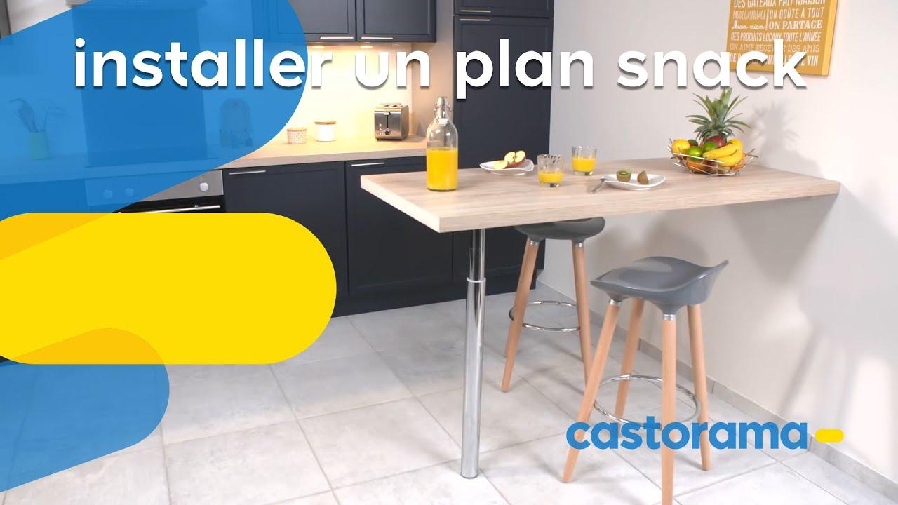 comment installer une table murale dans la cuisine castorama