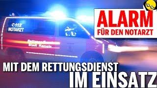ALARM FÜR DEN NOTARZT - mit dem Rettungsdienst im Einsatz