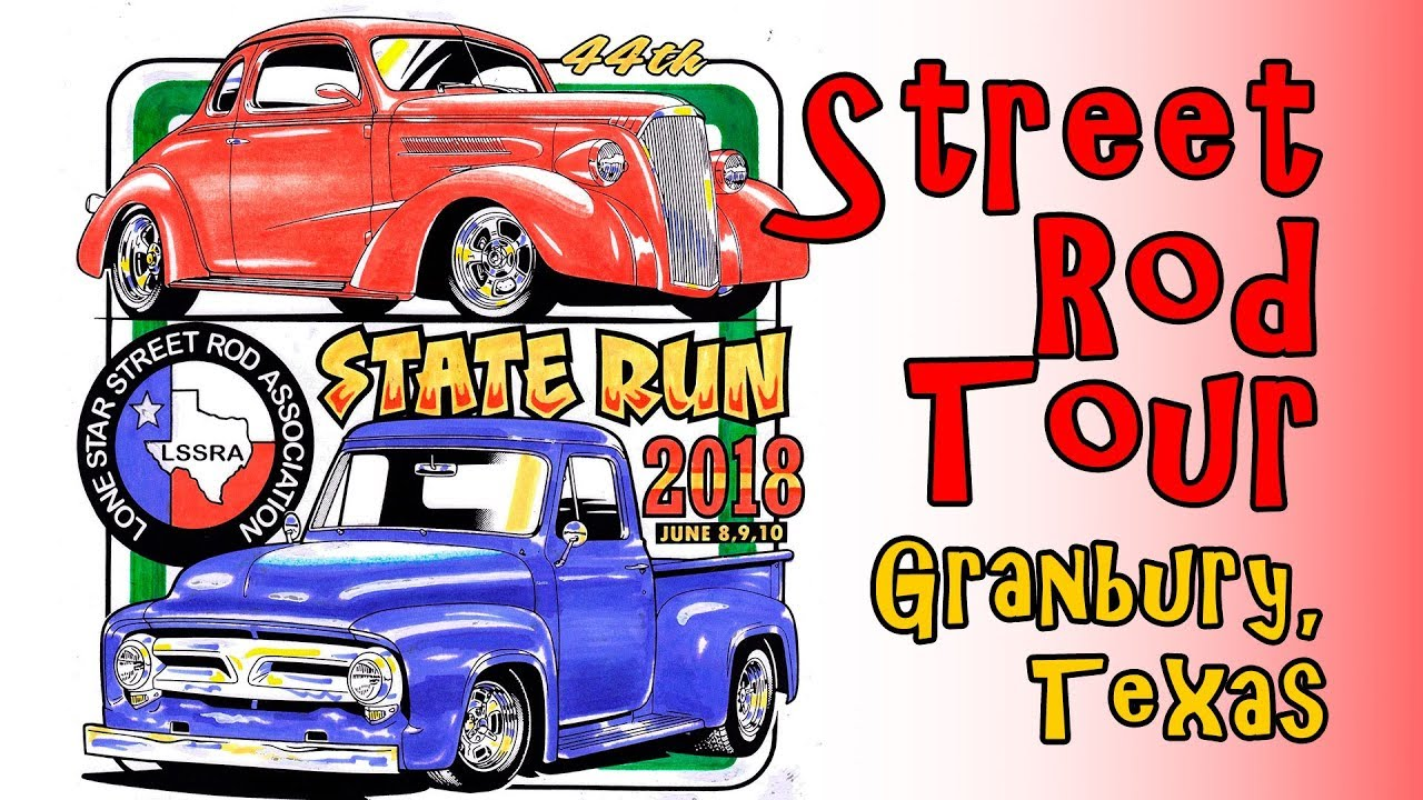 Hot Rod Vintage Car Show Granbury Texas UHD K YouTube - Granbury car show