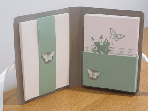 Notecard set tutorial with gorgeous grunge and papillon for Tutorial papillon