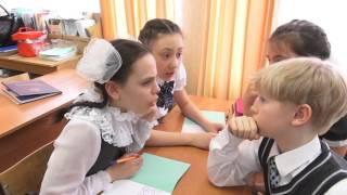 Фрагмент урока по русскому языку. Русакова Р. Л.