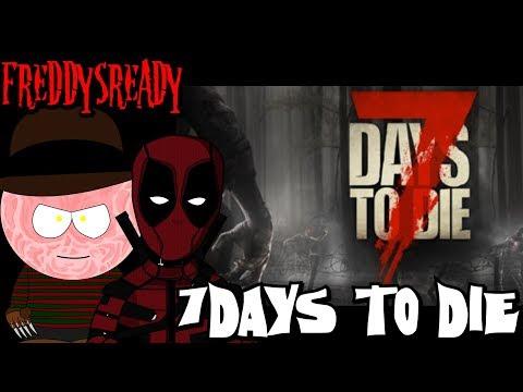 7 Days to Die PC - Part 3 w/ JoeyUndead Meganastyy & MsFreddy