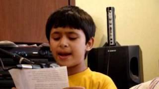 """akshay sings """"chhota sa ghar hoga"""""""