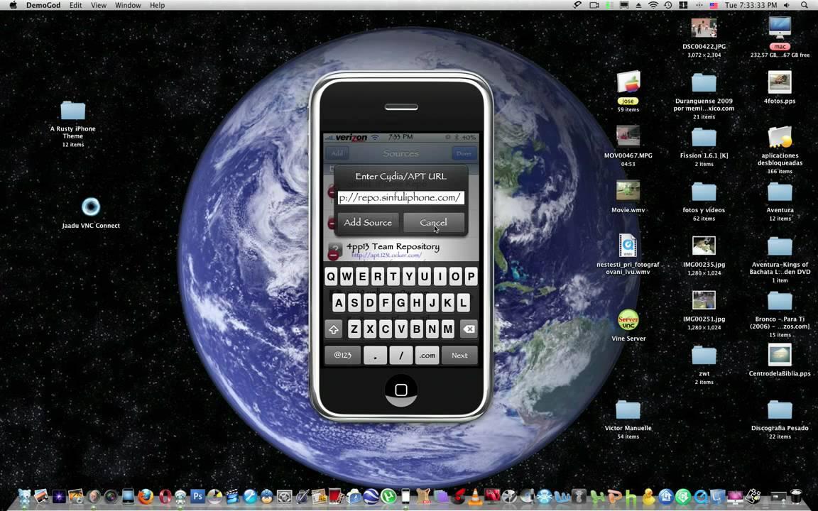 Descargar cydia para iphone 4 gratis español