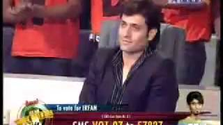 Irfan   Star Voice Of India Show.flv