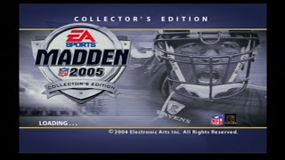 Madden NFL 2005 Collectors Edition Welcome to Madden 2005