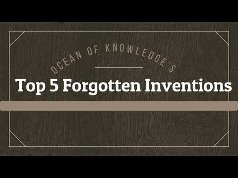 Top 5 Forgotten and suppressed Inventions of past