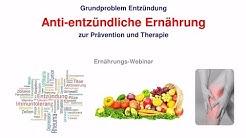 Anti-entzündliche Ernährung - Auszug aus dem Online-Ernährungs-Kurs https://lieberleichter.de/
