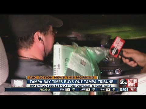 Tampa Bay Times employee reacts to acqusition of Tribune