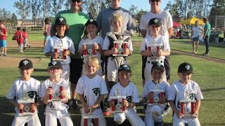 Thousand Oaks Little League 7U All Stars Championship Game - Father's Day 2015