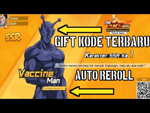 GIFT CODE TERBARU ONE PUNCH MAN The Strongest | CODE ...