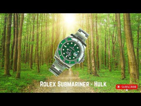 Unboxing Rolex Submariner Hulk (116610LV)