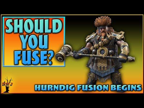 How Good is Hurndig? Should we Fuse him? | Test Server | Raid Shadow Legends