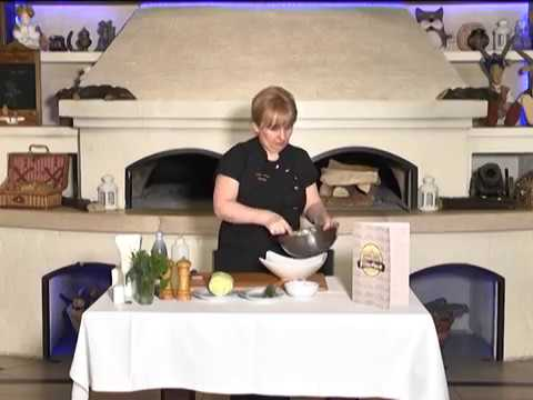 Ранок-панок. Світлана Бурчак. Салат з пекінської капусти, грейпфрукта та огірка