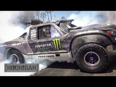 [HOONIGAN] DT 100: BJ Baldwin's 800HP Trophy Truck Decimates the Donut Garage