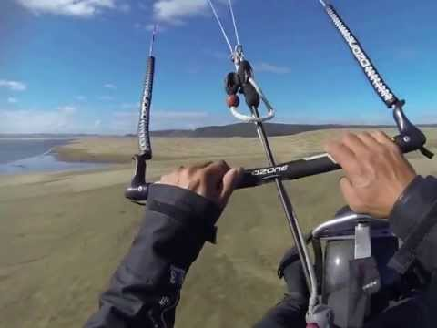 kite surf and buggy at South Head (Moose HQ) GOPRO/POV