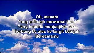 Bagaikan langit di sore hari Berwarna biru (karaoke dan lirik)