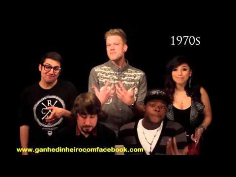 Capela Evolução da Música - Evolution of Music - Pentatonix