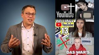 Fakten: Zum Youtube-Aus und Artikel 13