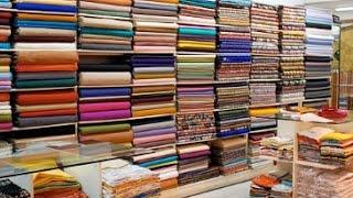 Покупка ткани в Милане. Едем в магазин тканей.Store tissue in Milan.
