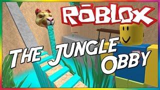 Roblox - The Jungle Obby: Manjo de Parkour?