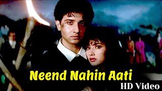 Neend Nahin Aati | Full Video Song | Vinod Khanna, Manisha Koirala