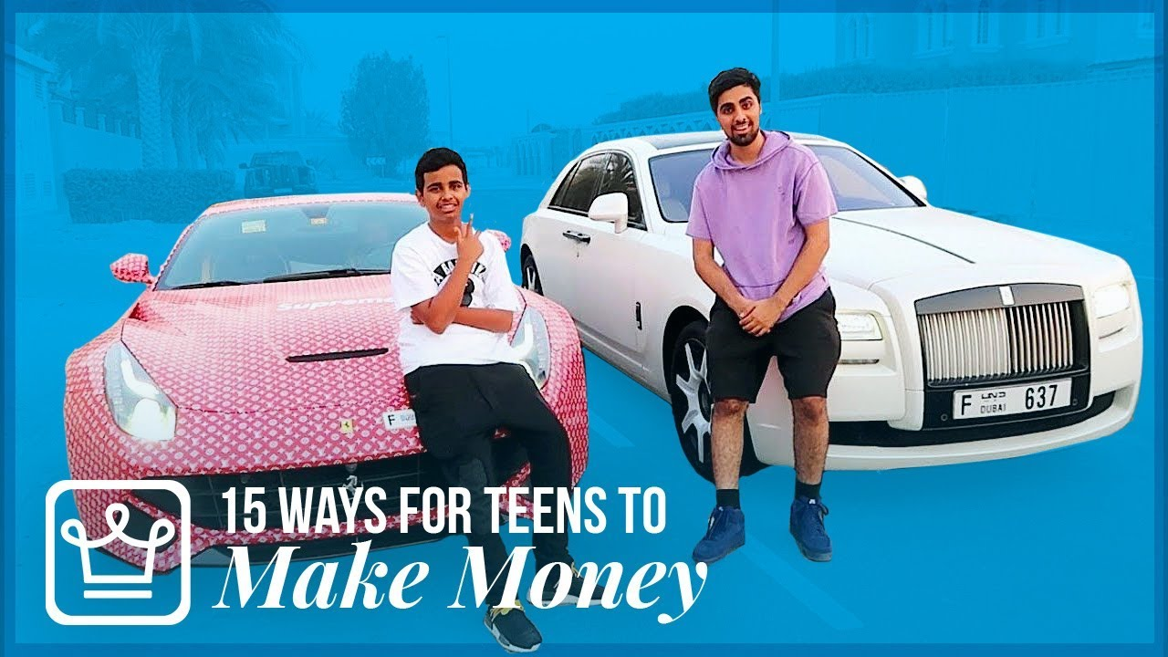 15 Ways Teenagers Can Make Money (2019) - Alux com