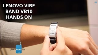 Lenovo VIBE Band VB10 hands on