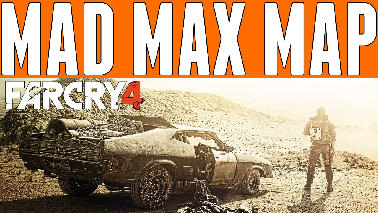 mad max game how to find map