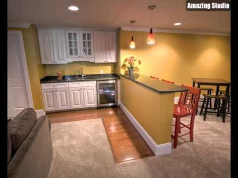 Inspiring Basement Kitchen Ideas YouTube New Basement Kitchen Designs