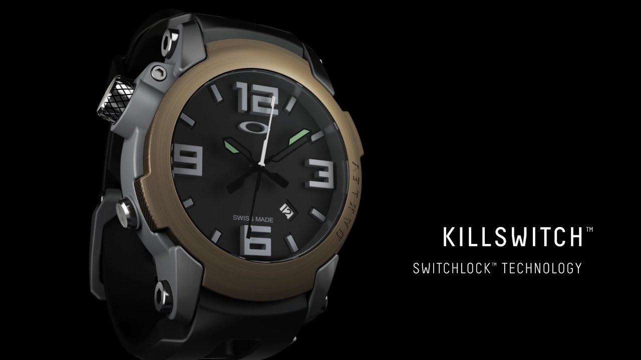 Garmin Sports Watch >> Oakley Killswitch - YouTube