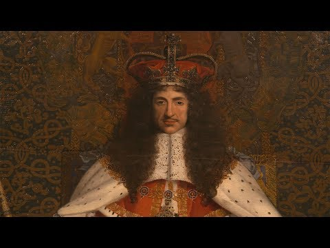 Charles II at the Queen