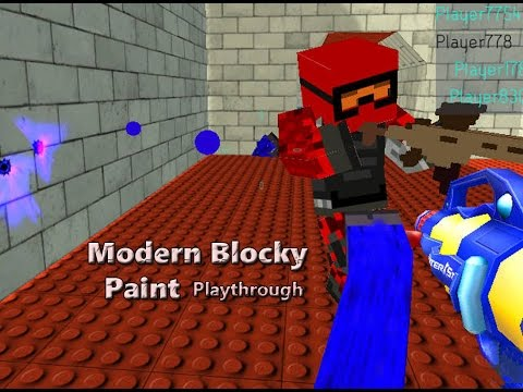 Modern Blocky Paint (PC Browser Game)