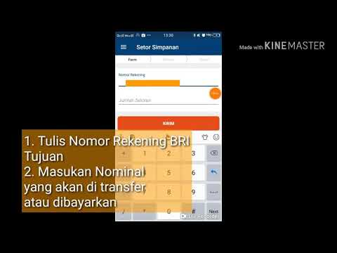 BRILINK MOBILE - TRANSFER TANPA KODE OTP menggunakan Menu SETOR SIMPANAN