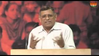 S. Gurumurthy Speech on Globalization & Indian Society - 20.10.2012