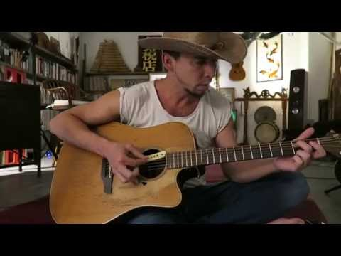 Blue Water Dolphin Song (Hawaiian Slack Key Guitar)