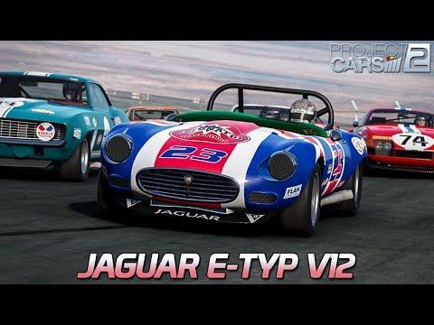 Jaguar E-Type V12 | Project CARS 2 [HD] [GER] Vintage Touring Cars @ Sonoma