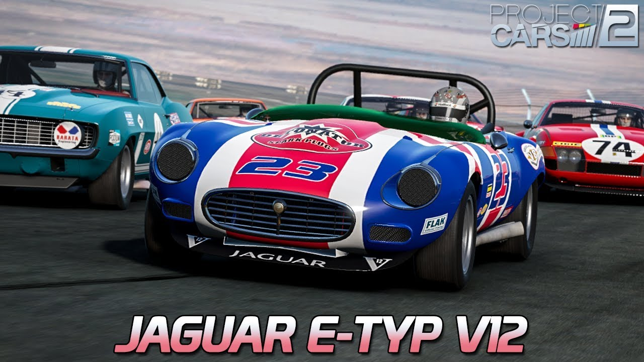 jaguar e type v12 project cars 2 hd ger vintage. Black Bedroom Furniture Sets. Home Design Ideas