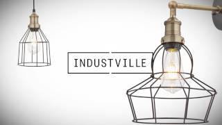Industville Brooklyn Vintage Retro Lighting Range