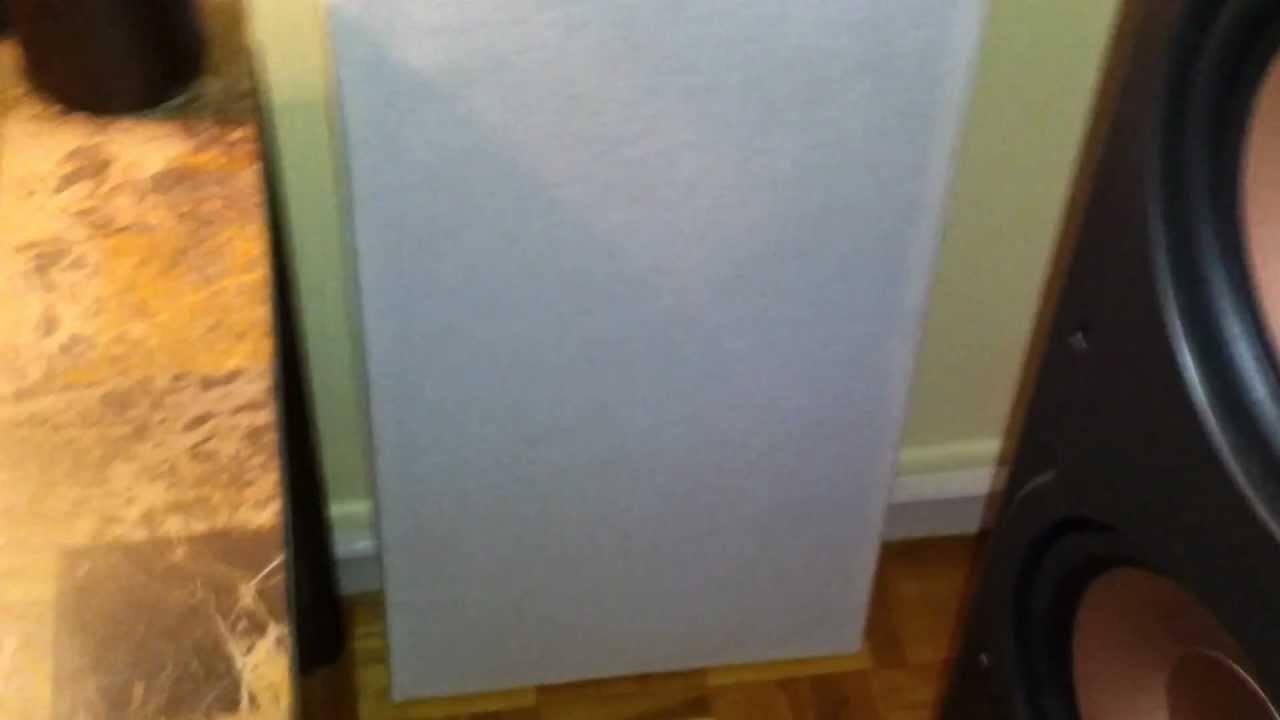 Homemade Acoustic Panels Bass Traps Roxul Safe And Sound