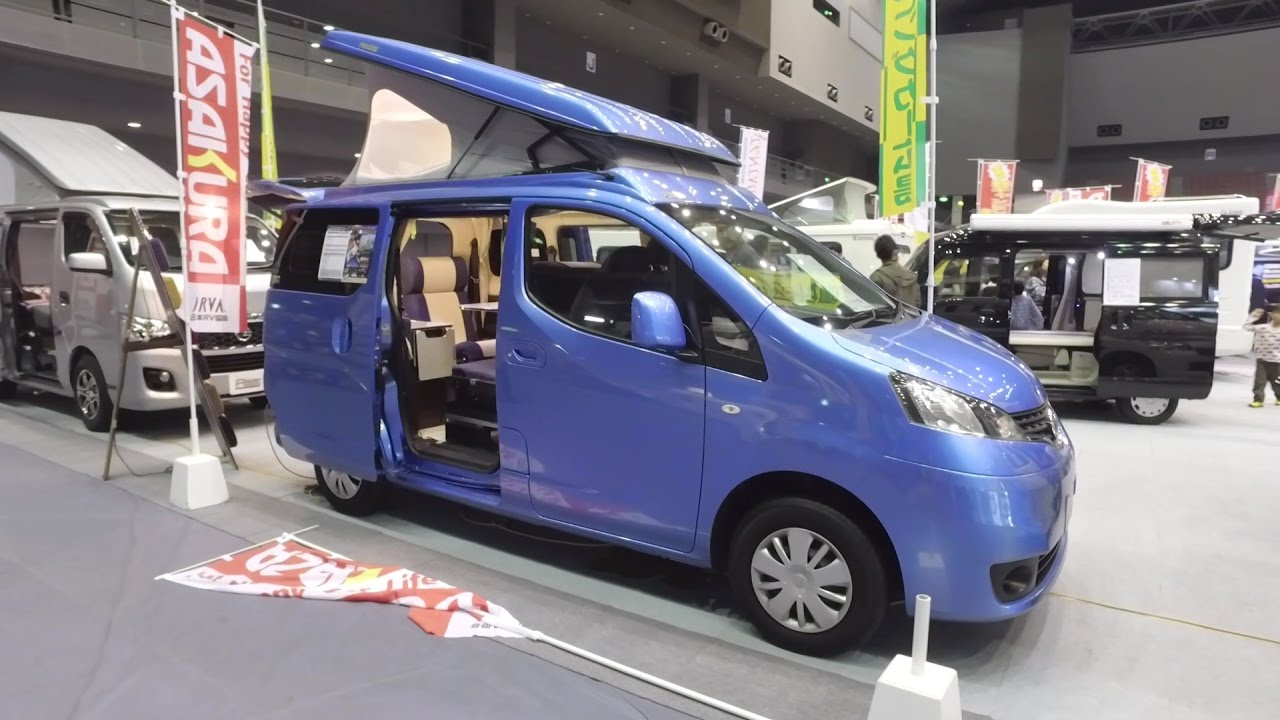 Berühmt Nissan NV200 Camper Van Conversion - Japan Camping Car Show 9  DN28