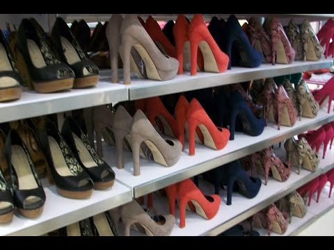 New Shoes And Used Quality Clothes Warehouse Miami Florida USA