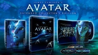 Avatar Collector's Edition Blu-Ray Unboxing
