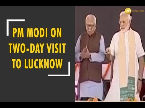 News Live: PM Modi on two-day visit to Lucknow from today