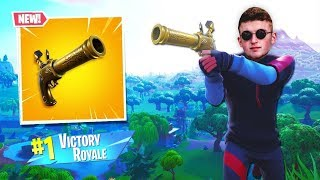 New Fortnite *Flint-Knock Pistol* IS INSANE!! (Live)