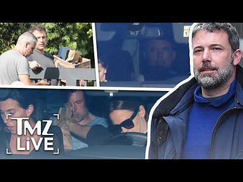 Ben Affleck Seeks Help and Back in Rehab After Intervention by Jen Garner | TMZ Live