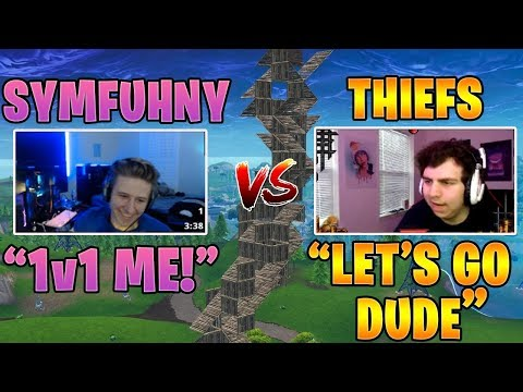 Symfuhny vs FaZe Thiefs & Ghost Bizzle | Creative 1v1 *INSANE PRO FIGHTS*