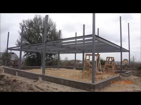 Как построить здание из легких металлических конструкций и сэндвич панелей, Ливны