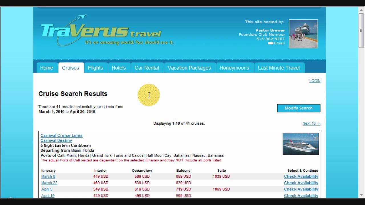 World Ventures Travel Scam